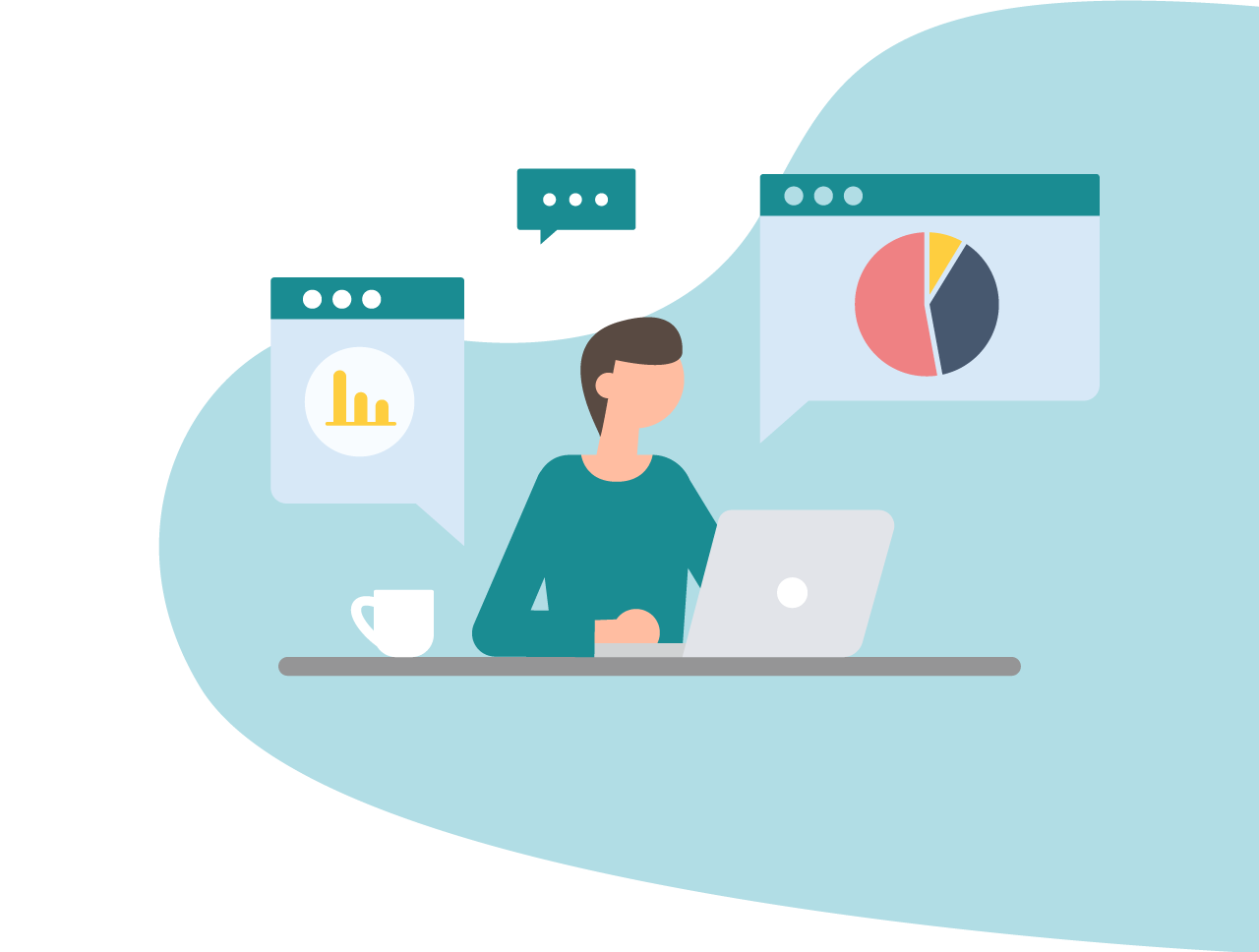 With Qooling you can use data to improve your business