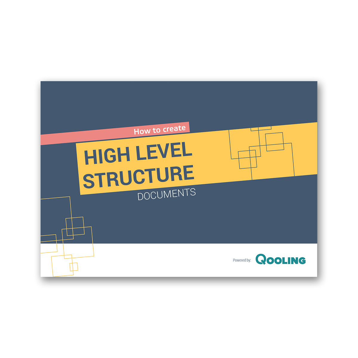 E-book: How to create structure documents